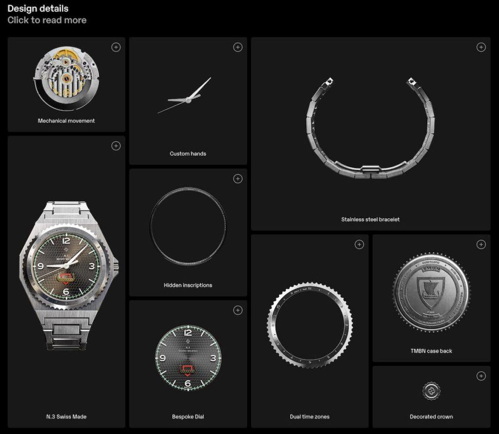 Micro Milspec N.3 Design Details