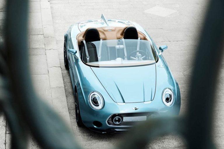 Der Retro-Roadster Mini Superleggera