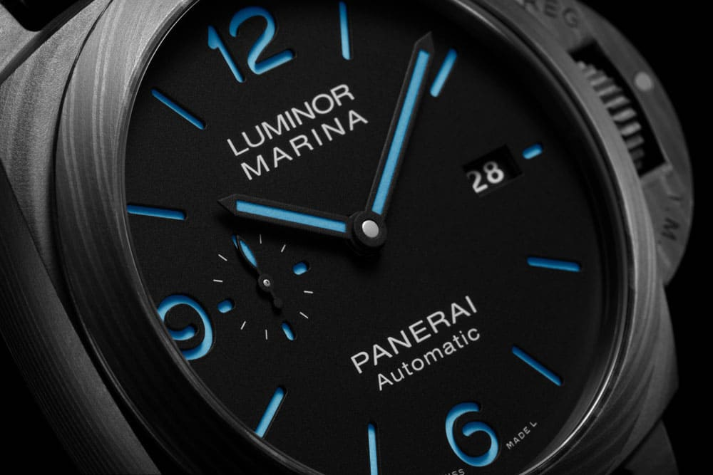 Panerai Luminor Marina PAM1661 aus Carbotech
