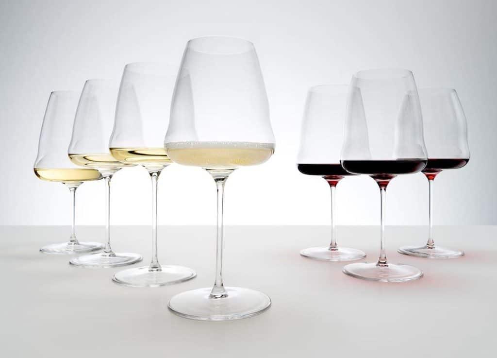 Riedel Winewings Champagner und Weingläser