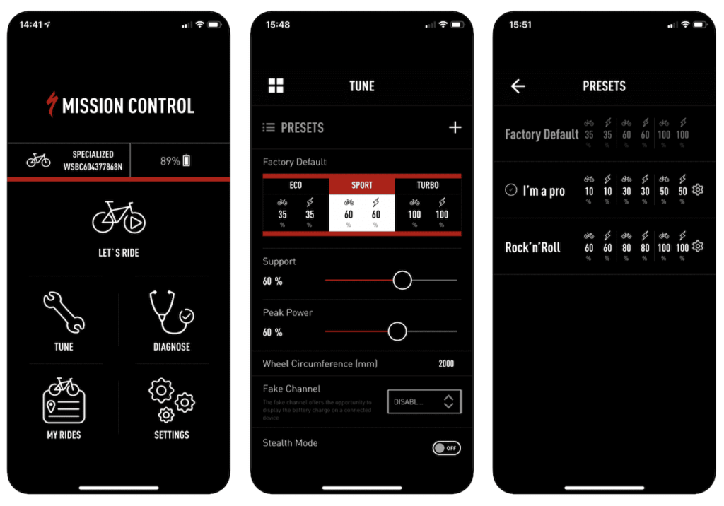 Specialized - Mission Control App
