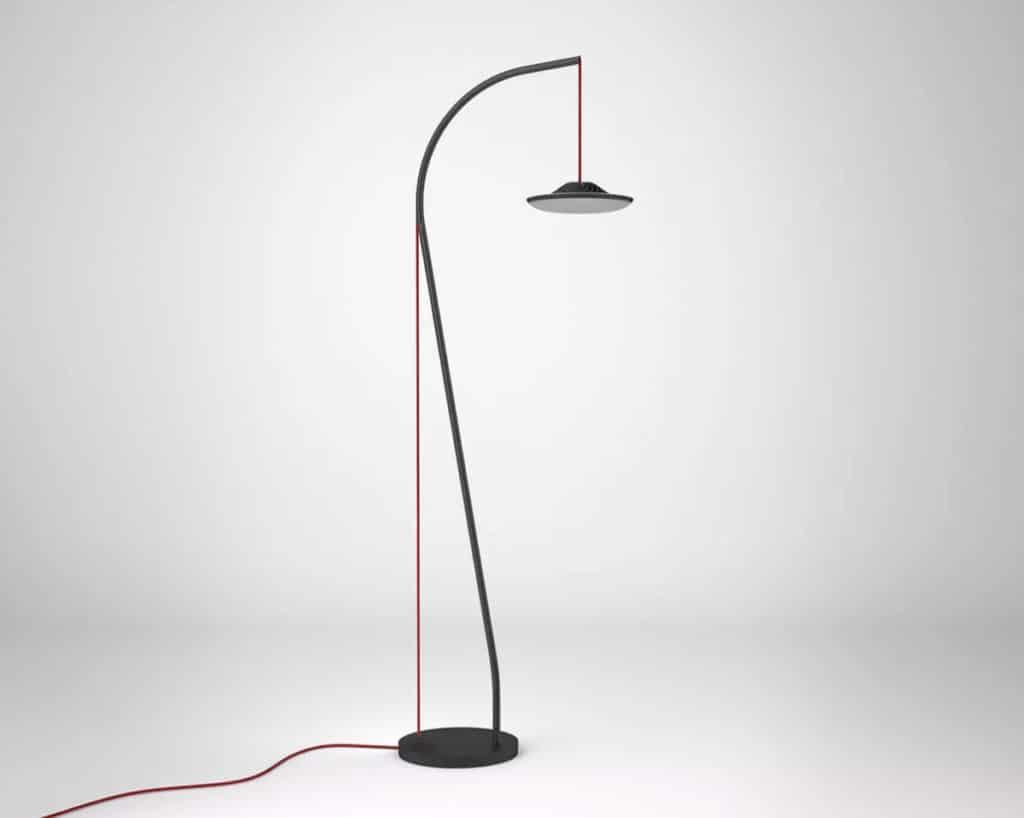 Model F Stehlampe von Luke Roberts