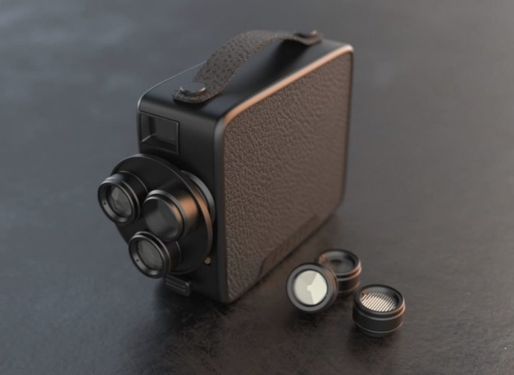 Fragment 8 Retro Video-Kamera