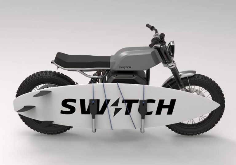 Elektro-Motorrad Switch eSCRAMBLER