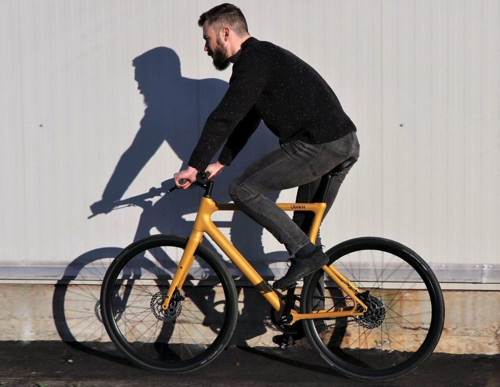 Fahrt auf dem Urwahn Platzhirsch E-Bike