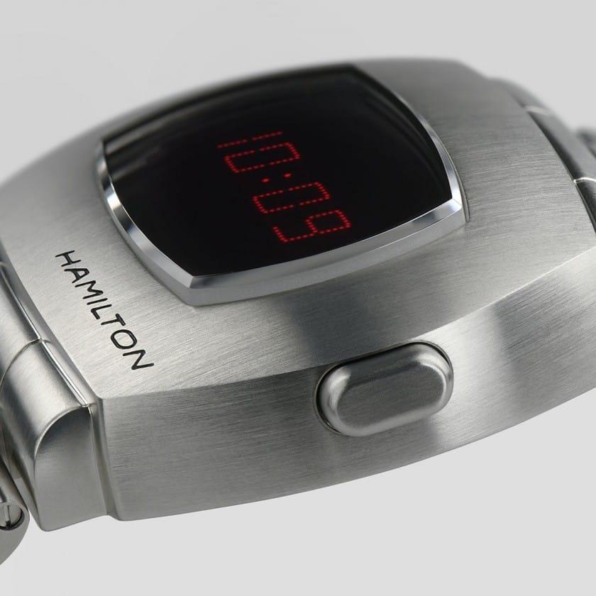 Detailansicht der Hamilton PSR Uhr 2020