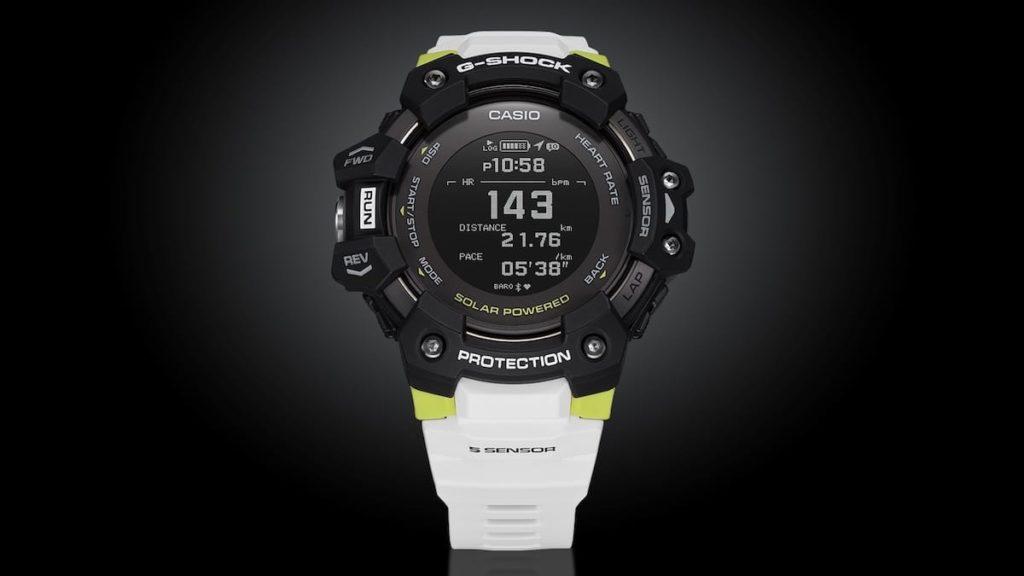 Details der Casio G-Shock GBD-H1000 - G-Squad