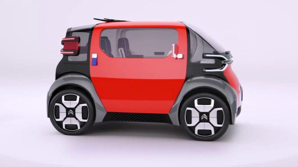 Das Elektroauto Citroën Ami One Concep