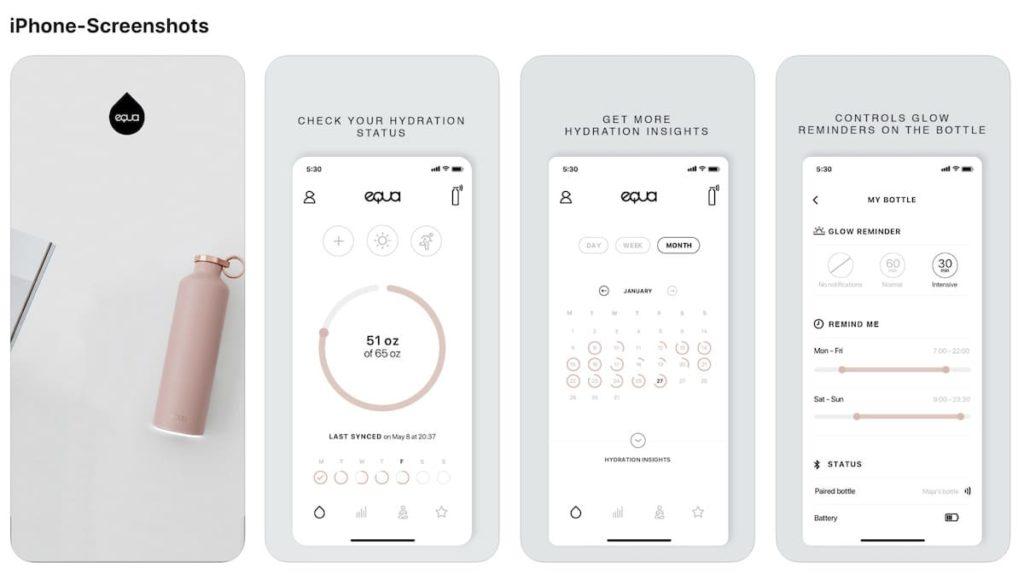 EQUA iOS Screenshot