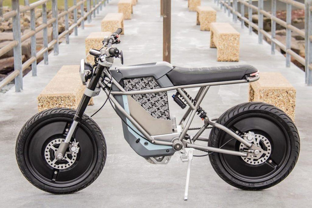 Falcon E-Motorrad Details