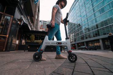 HiMo E-Bike auf der Strasse