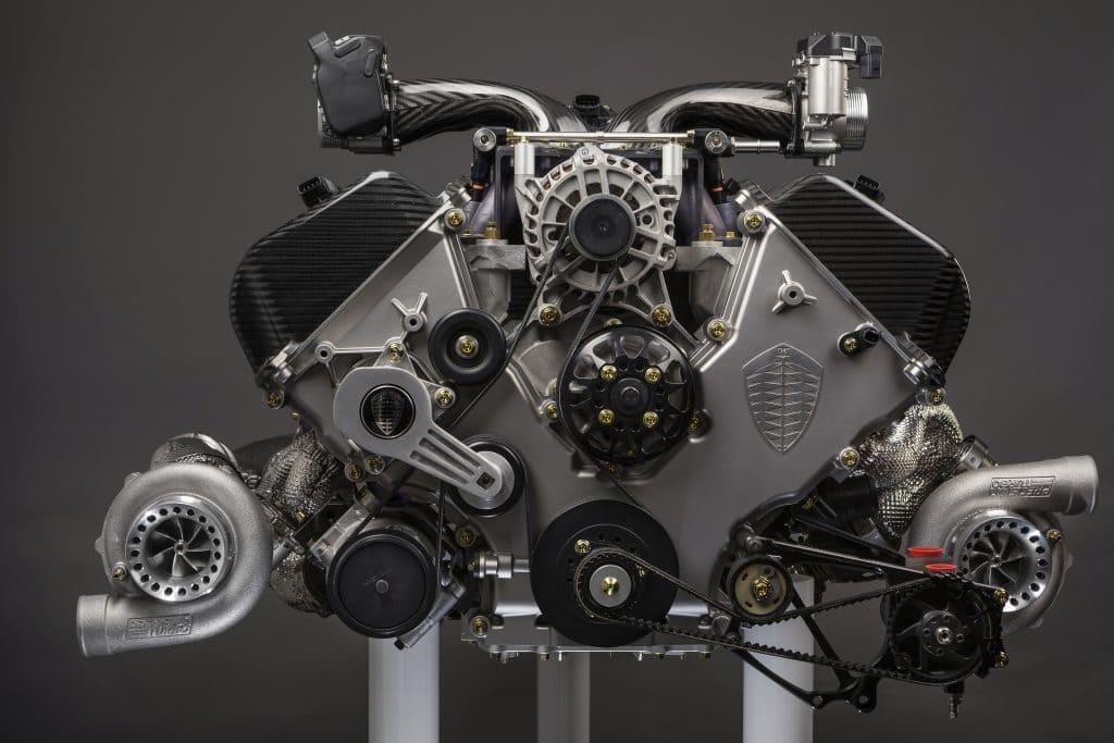 V8 Motor Jesko Absolut