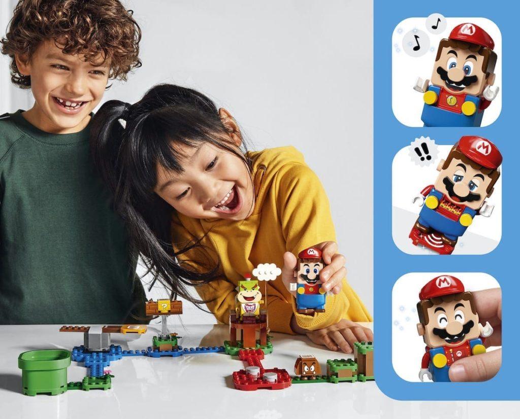Spielen mit LEGO Super Mario