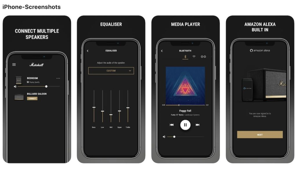 Marshall Voice App für iOS