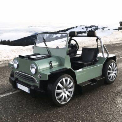 Mini V8 M Moke von Lazareth