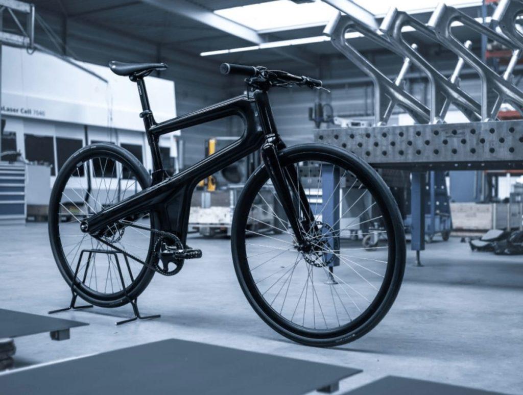 Mokumono Delta Bikes Produktionshalle