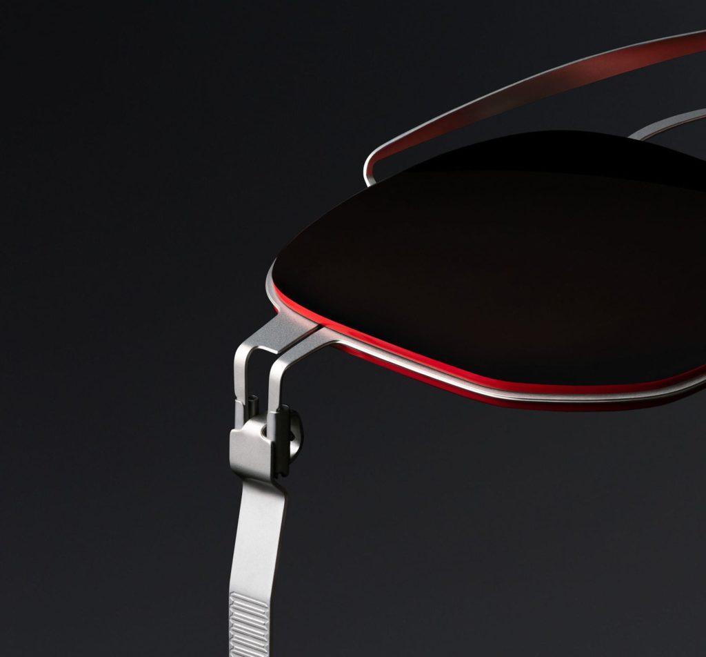 Details der MYKITA - Leica Sonnenbrille