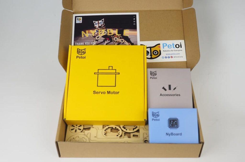 Nybble Bausatz - Verpackung