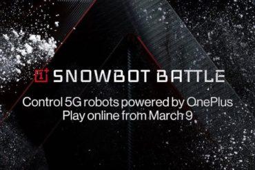 OnePlus Snowbot Battle 2020