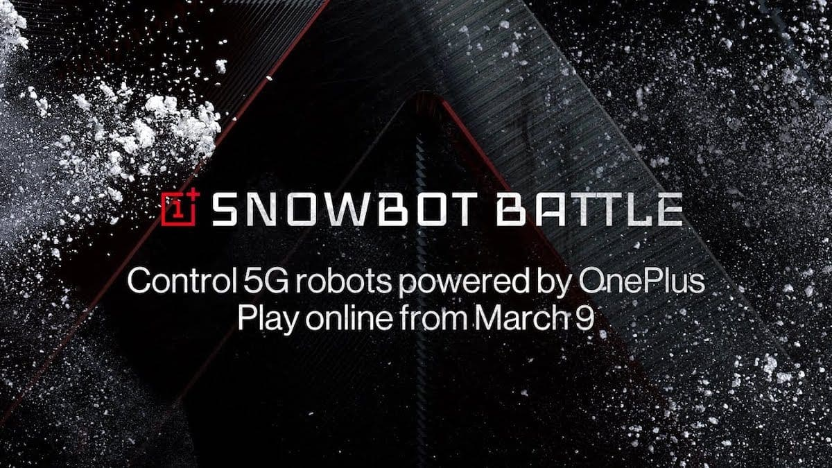 OnePlus Snowbot Battle 2020