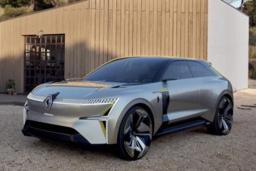 Renault MORPHOZ Konzept-Auto
