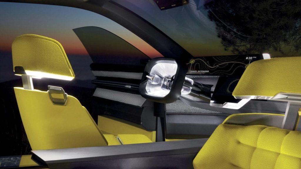 Renault MORPHOZ Cockpit