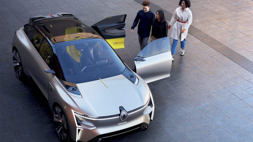 Renault MORPHOZ Türen