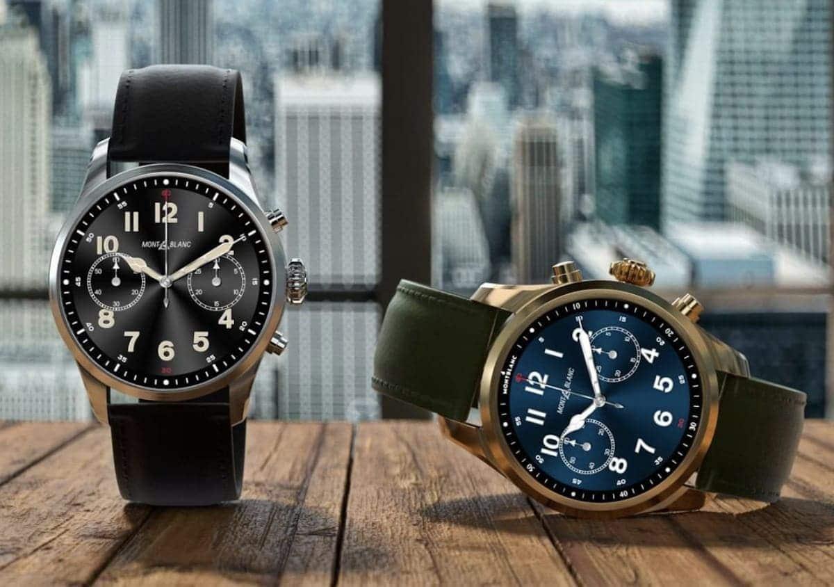 Montblanc Summit 2+ Smartwatch Modelle