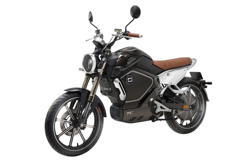 Elektro-Motorrad Super Soco TC von Vmoto