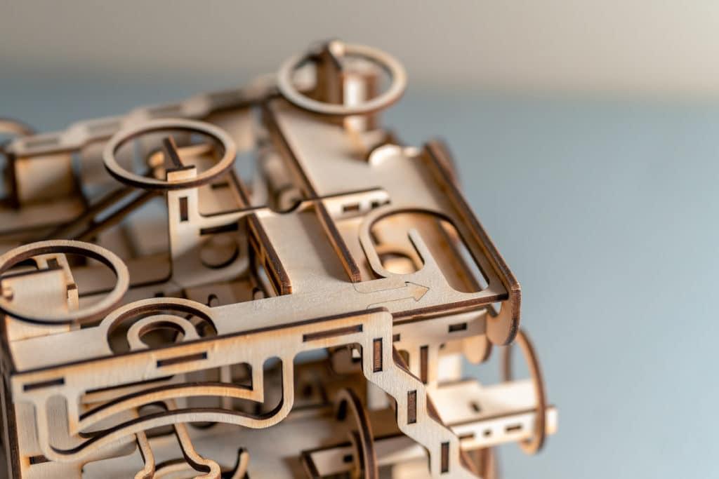 3D-Holzpuzzle Details