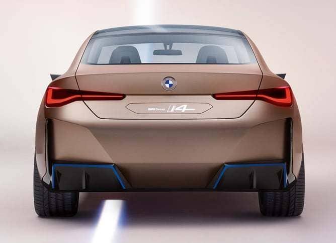 Heck des 2020 BMW Concept i4