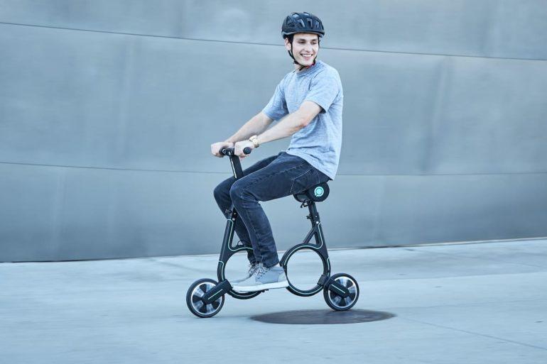 Kompakte E-Bike Smacircle S1