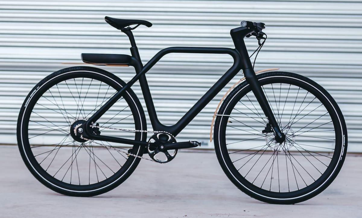 Angell 2020 E-Bike in schwarz