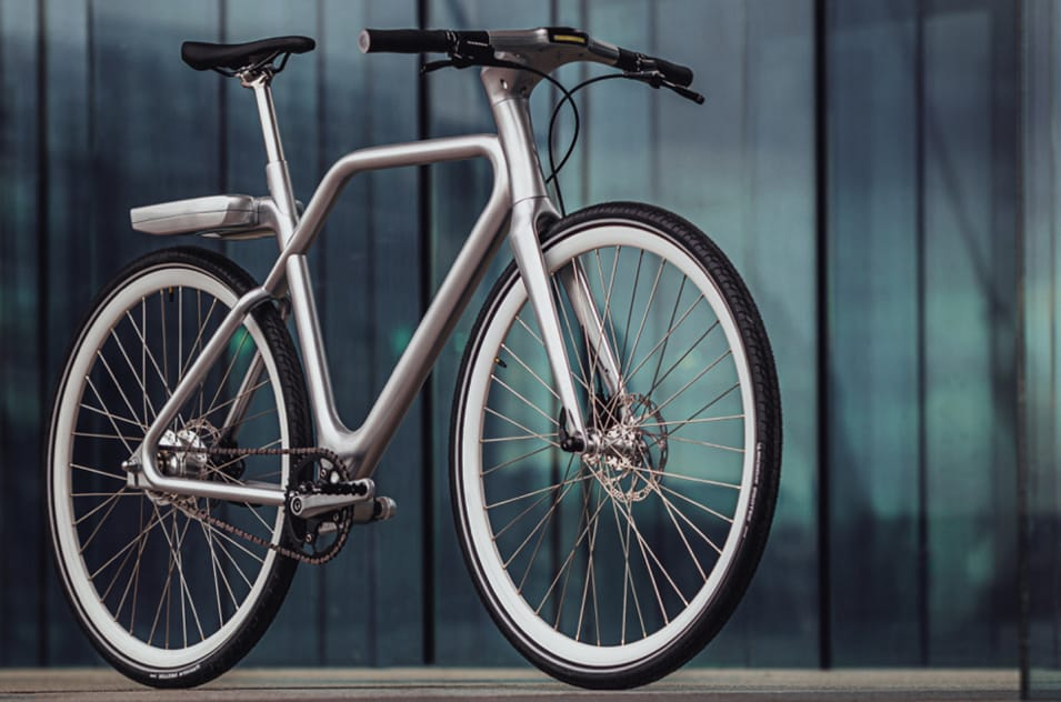Angell 2020 E-Bike in silber