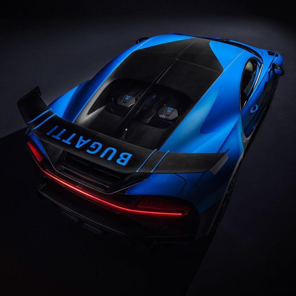 Hypercar Bugatti Chiron Pur Sport
