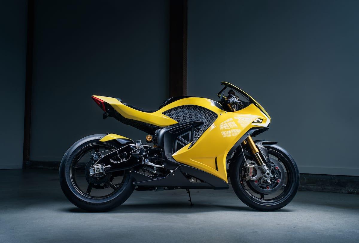 Elektro-Motorrad Damon Hypersport HS
