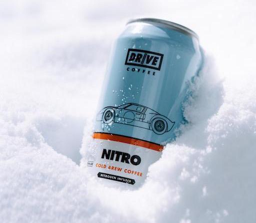 Nitro Cold Brew Kaffee-Dose