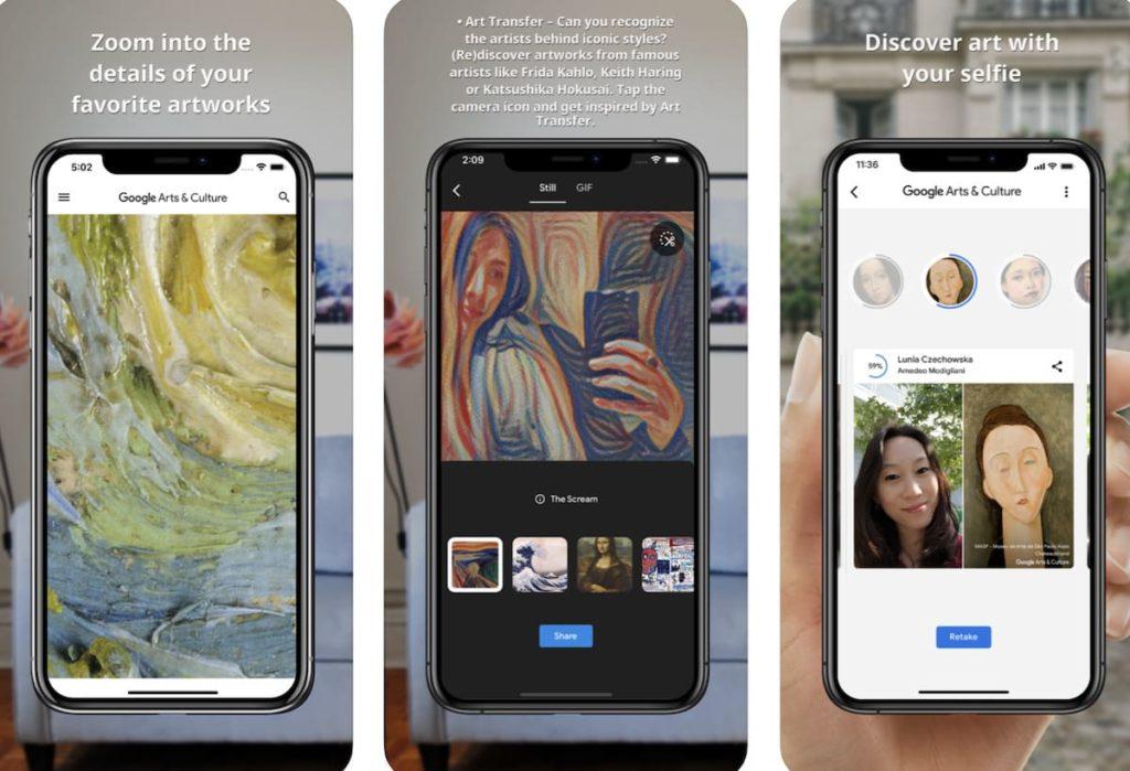 Google Art Transfer aus der Arts & Culture App