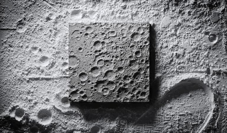 Luna Surface Mondoberfläche