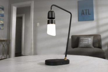 Die schwebende Megi Lampe