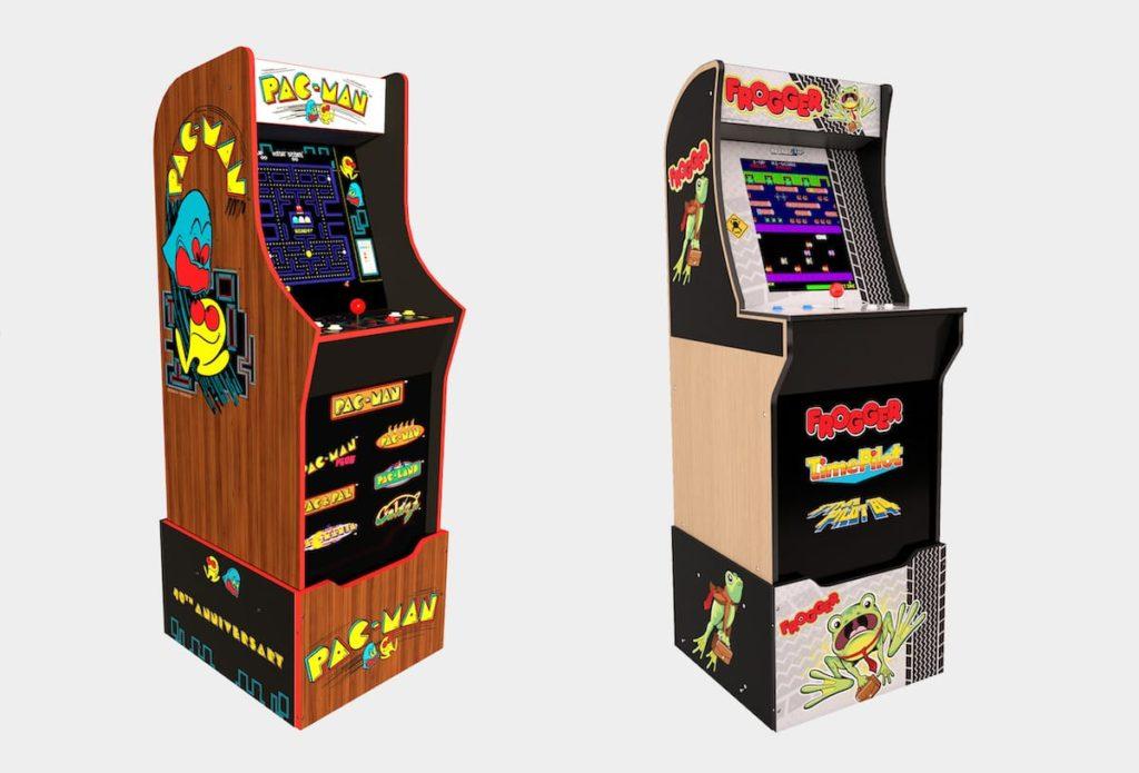 Retro Spielautomaten Pac-Man und Frogger