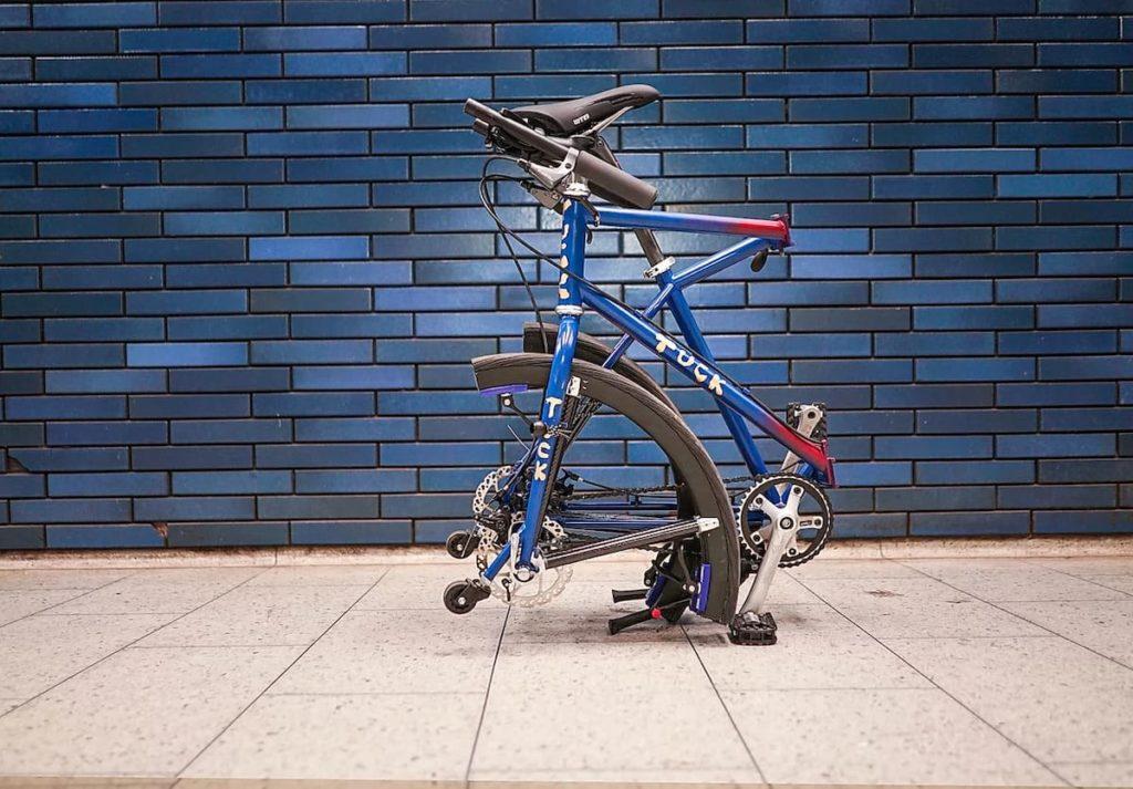 Tuck Bike gefaltet