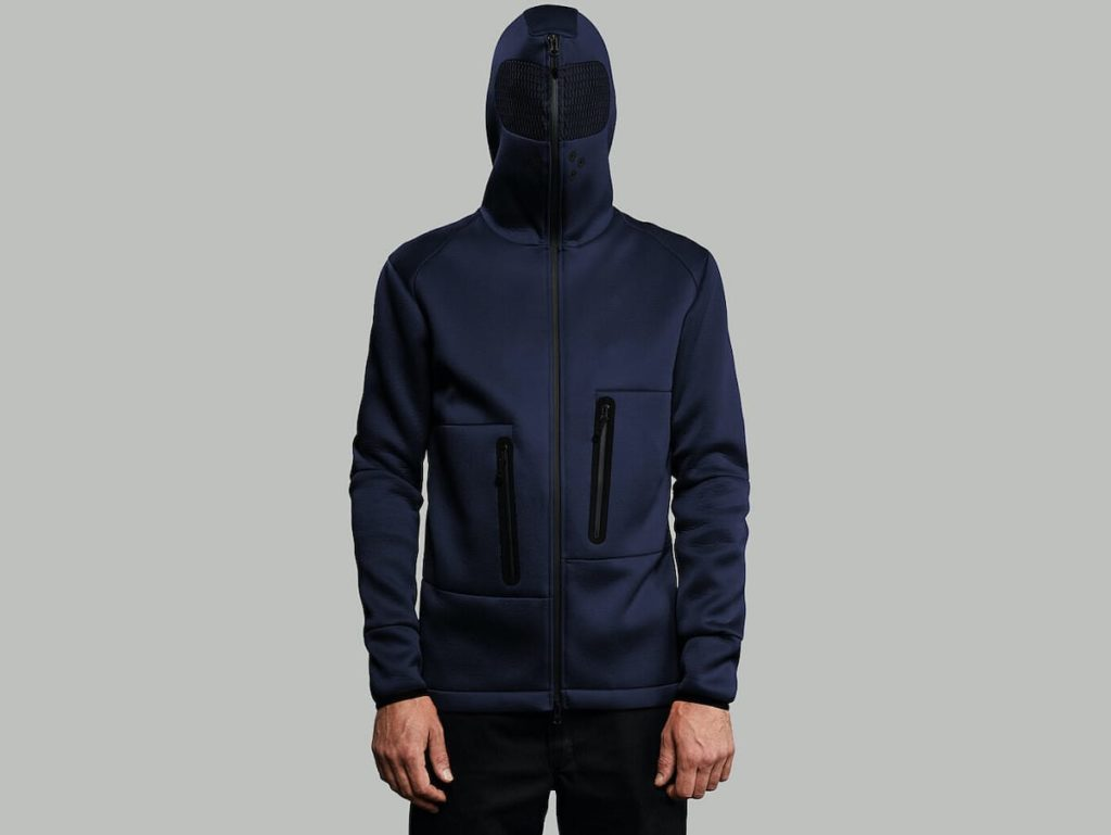 Navy Edition des Relaxation Hoodie
