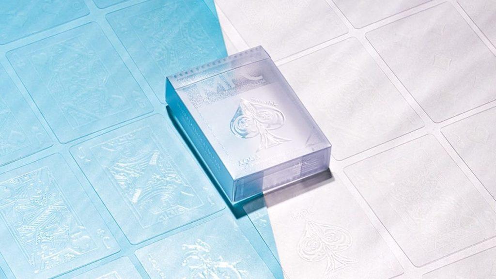 Aqua Deck Cards - durchsichtige Karten