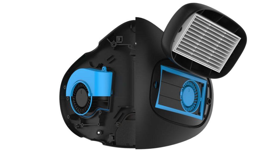Austauschbare H13-HEPA-Filter der Atmoblue