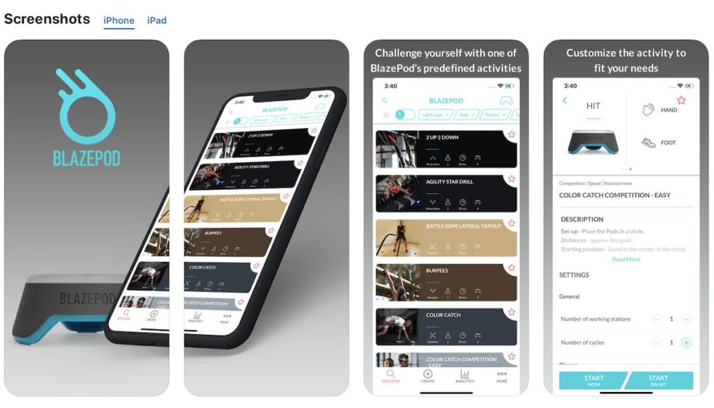 BlazePod iOS Training-App