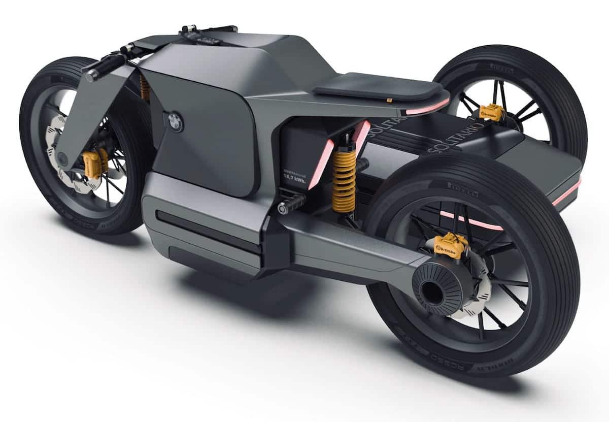 BMW Motorrad x El Solitario MC