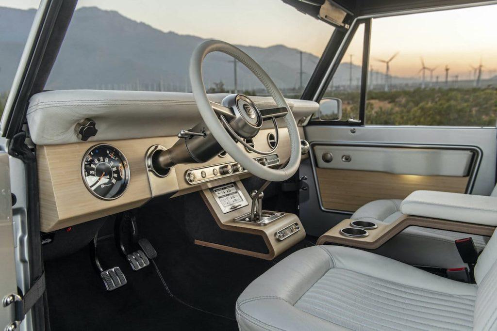 Ford Bronco Innen-AusstattungFord Bronco Innen-Ausstattung