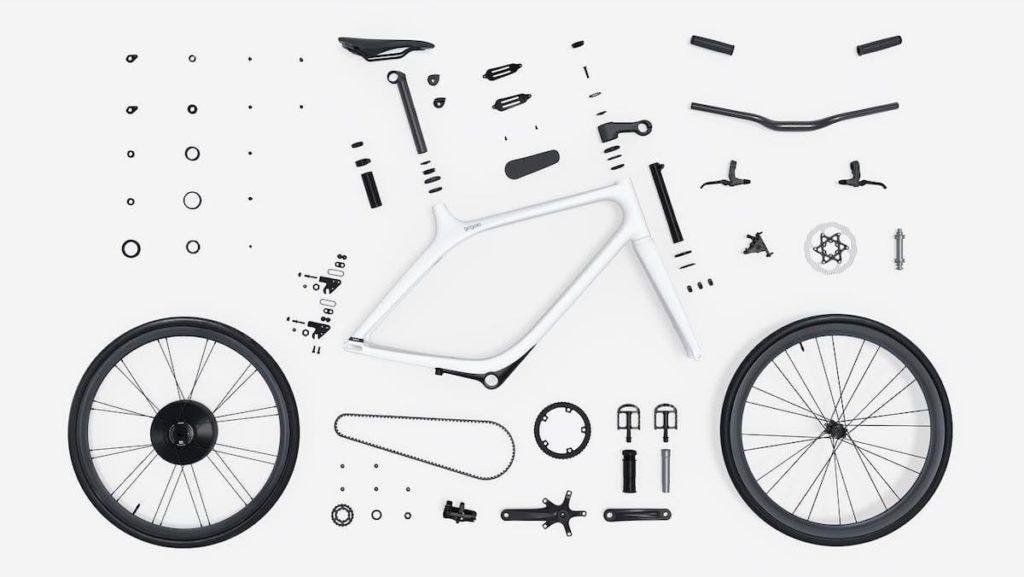 Bauteile des eeyo Bikes