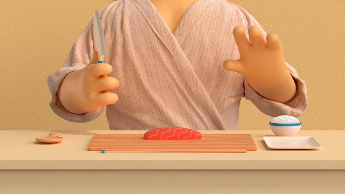 How to make Sushi - Video-Animation